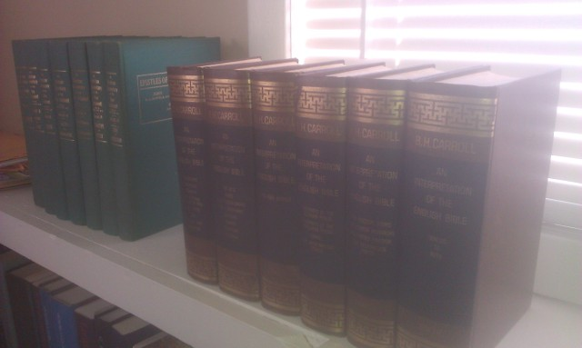 Baptist commentaries